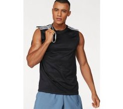 adidas Performance Tanktop »D2M SLEEVELESS 3STRIPES«, schwarz