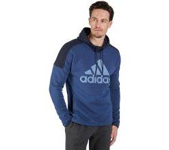 adidas Kapuzensweatshirt - Herren - blau in Größe 52/54