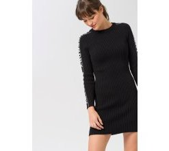 """Superdry Strickkleid »URBAN STREET SLV LOGO DRESS«"""