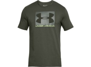 UNDER ARMOUR Herren Shirt UA Boxed Sportstyle - grün 2XL
