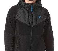 Nike Sportswear Core - Kapuzenjacke für Herren - Schwarz (black/black/white)
