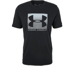 UNDER ARMOUR T-Shirt 'BOXED SPORTSTYLE' schwarz
