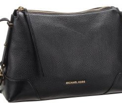 Michael Kors Umhängetasche Crosby Medium Messenger Black
