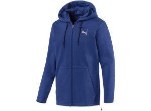 PUMA Sweatjacke 'Q4 VENT Hooded Jacket' blau / silber