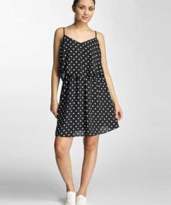 Only Frauen Kleid onlPixie in schwarz