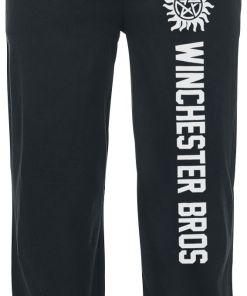 Supernatural Winchester Bros Pyjama-Hose schwarz