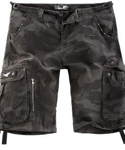 Black Premium by EMP Army Vintage Shorts Vintage Shorts darkcamo