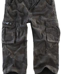 Black Premium by EMP 3/4 Army Vintage Shorts Shorts darkcamo