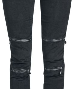 Gothicana by EMP Megan Girl-Jeans schwarz