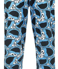 Sesamstraße Cookie Monster Pyjama-Hose multicolour