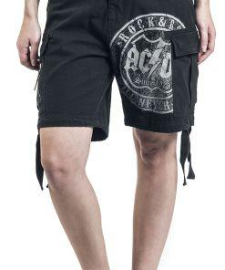 AC/DC EMP Signature Collection Girl-Shorts schwarz