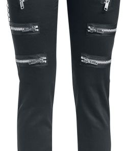 Gothicana by EMP Skarlett Girl-Jeans schwarz