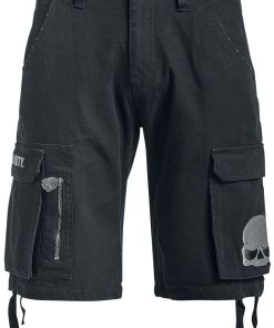 Call Of Duty Skull Shorts schwarz