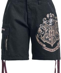 Harry Potter Hogwarts Girl-Shorts schwarz