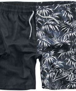 Parkway Drive EMP Signature Collection Badeshorts schwarz/grau