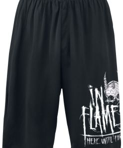 In Flames Here Until Forever Shorts schwarz