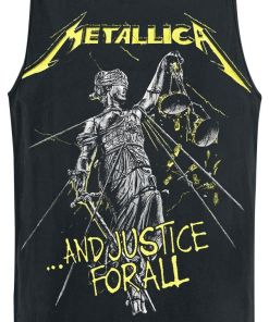 Metallica ...And Justice For All Tracks Tank-Top schwarz
