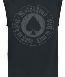 Motörhead Born To Lose Tank-Top schwarz