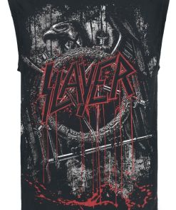 Slayer Dripping Skull Tank-Top schwarz