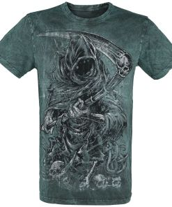 Gothicana by EMP Rebel Soul T-Shirt türkis