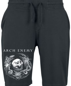 Arch Enemy Will To Power Shorts schwarz