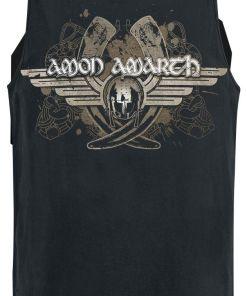 Amon Amarth Horns Tank-Top schwarz