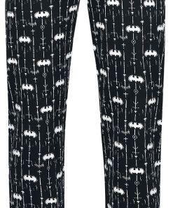 Batman Logo Pyjama-Hose schwarz/weiß