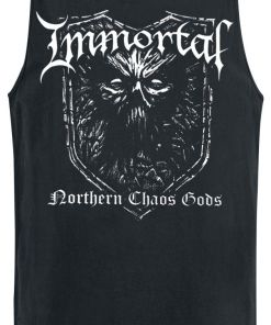 Immortal Northern chaos gods Tank-Top schwarz