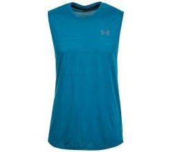 Under Armour® Tanktop »Heatgear Threadborne Muscle«, blau
