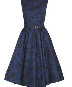 Circle Dress Blue