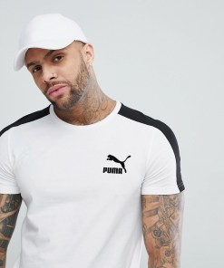 Puma - Archive T7 - Weißes Muskelshirt 57501502 - Weiß
