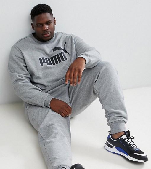 Puma PLUS - Essentials - Graues Sweatshirt