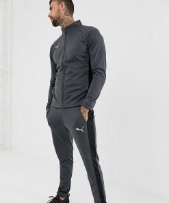 Puma - ftblNXT - Trainingsanzug aus Polytrikotstoff - Schwarz