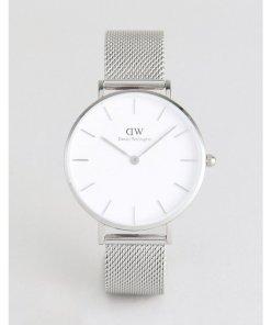 Daniel Wellington - DW00100164 - Uhr mit Netzarmband in Silber - Silber