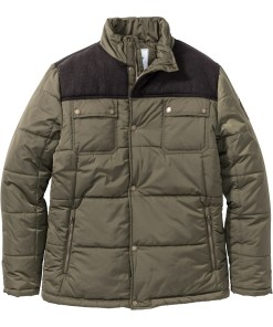 Wattierte Winterjacke Regular Fit