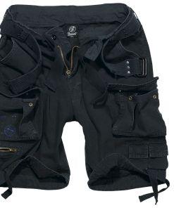 Brandit Savage Vintage Shorts Vintage Shorts schwarz