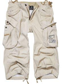Brandit Industry Vintage 3/4 Vintage Shorts beige