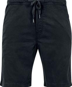 Urban Classics Stretch Twill Joggshorts Shorts schwarz