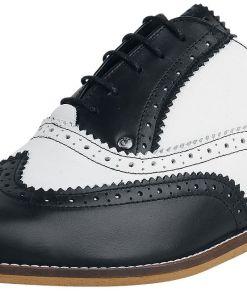 Steelground Shoes Classic Brogue Schuhe schwarz