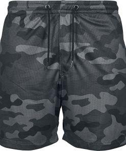 Urban Classics Camo Mesh Shorts Shorts darkcamo