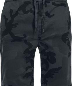 Urban Classics Camo Joggshorts Shorts darkcamo