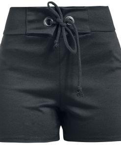 Outer Vision Cloe High Waist Short Girl-Shorts schwarz