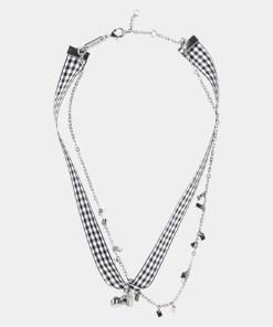 Halskette Weiß