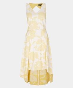 Abendkleid Gelb 1