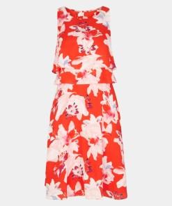 Abendkleid Rot 10