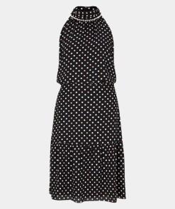Abendkleid Grau/Schwarz 25