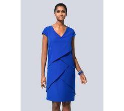 Damen Kleid Alba Moda Royalblau