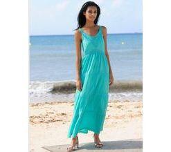 Damen Strandkleid Alba Moda türkis