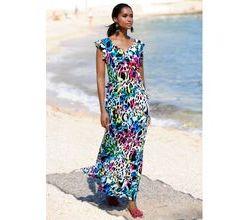 Damen Strandkleid Alba Moda multicolor