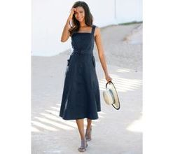 Damen Kleid Alba Moda blue